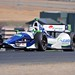 Simona De Silvestro crests the Turn 2 hill during practice at Sonoma Raceway