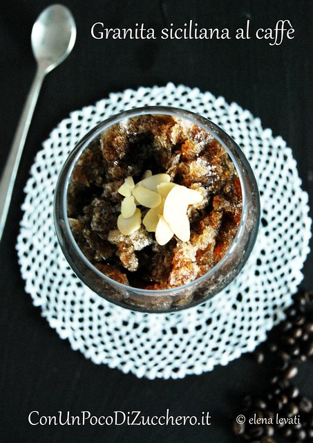 Granita siciliana al caffè br