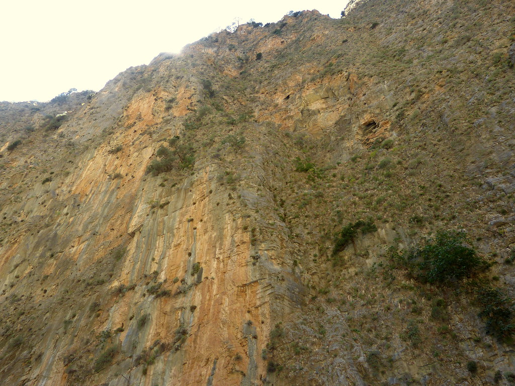 Samaria Gorge, looking up