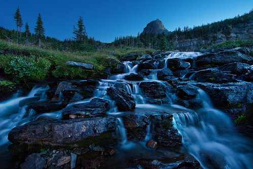 Twilight in Glacier National Park