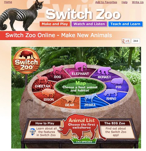 Switch Zoo - Make New Animals
