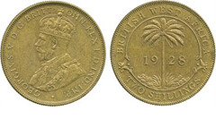 1928 British West Africa 2 shilling