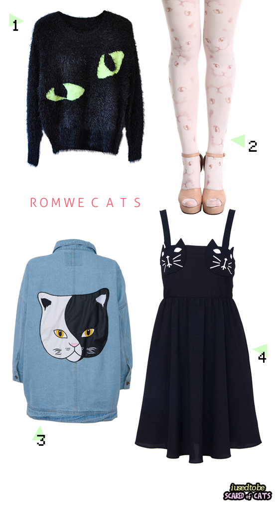 cat outfits from romwe