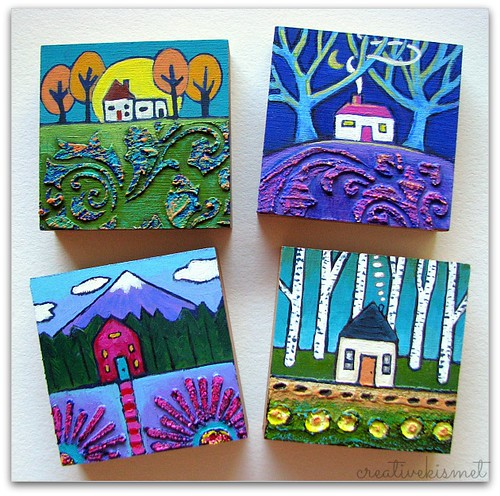 little house paintings