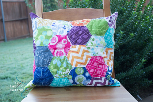 EPP Hexagon Pillow