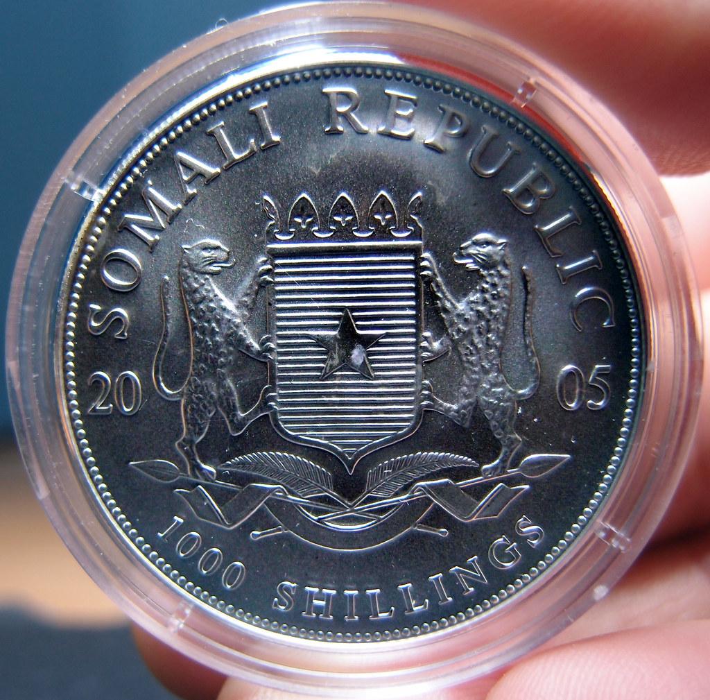 """Colección de onzas de plata """"Somalian African Wildlife""""  10277013183_77e87f4a1b_b"""