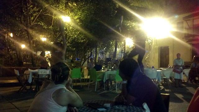 Cartagena street performer