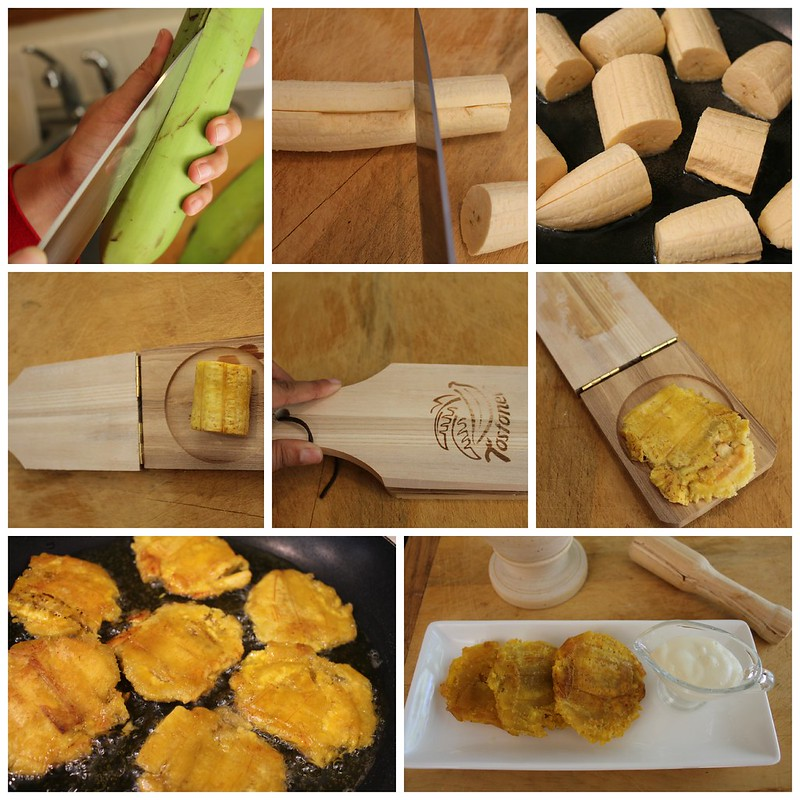 como hacer tostones
