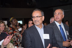 Harry Bains, MLA and Randy Heed