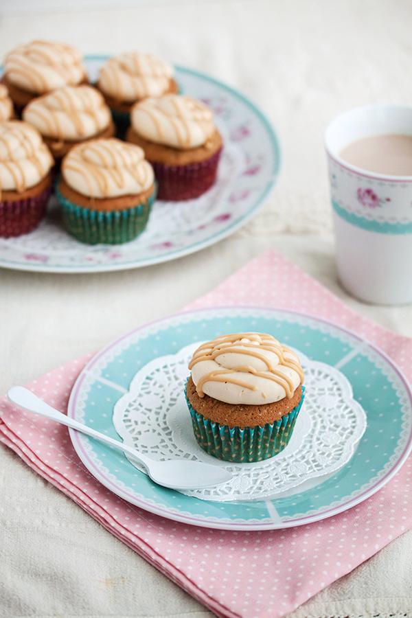 Mocha Caramel cupcakes