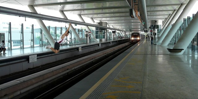 In future, all NSFs and NSmen must be able to jump over a moving MRT train to pass IPPT
