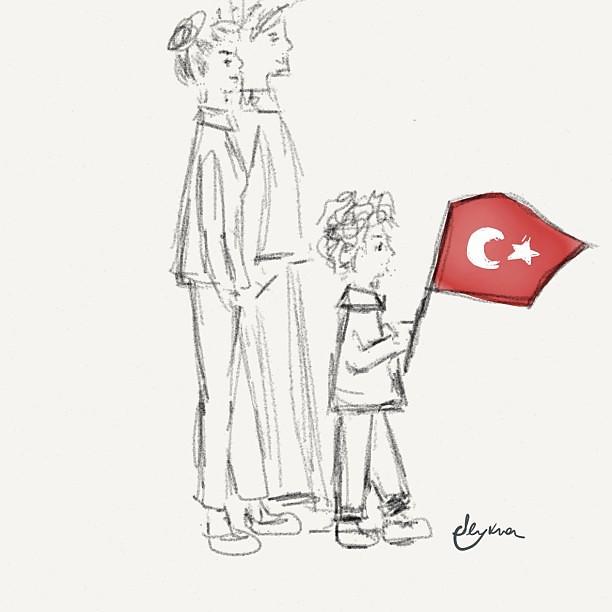 Cumhuriyet Bayramimiz kutlu olsunWe are celebrating the proclamation of the Republic of Turkey, 90th anniversary!