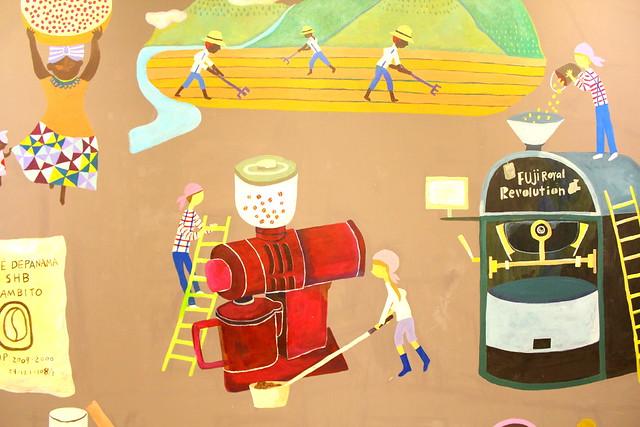 卡通咖啡手冲图片