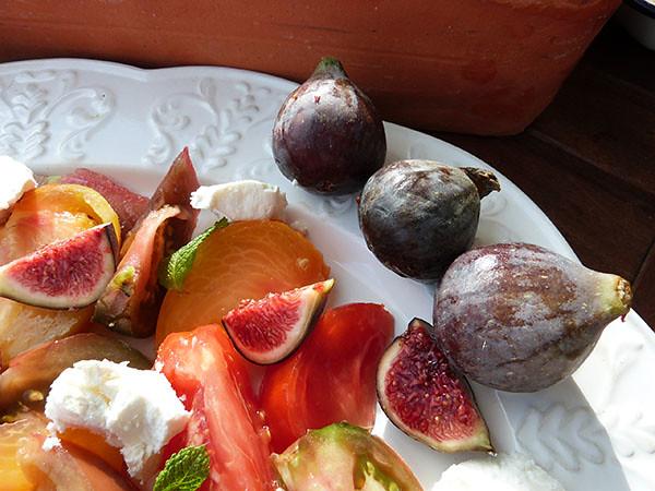 tomates et figues