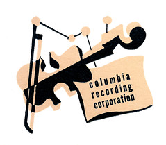 Coda Columbia Records violin 1945 jim flora