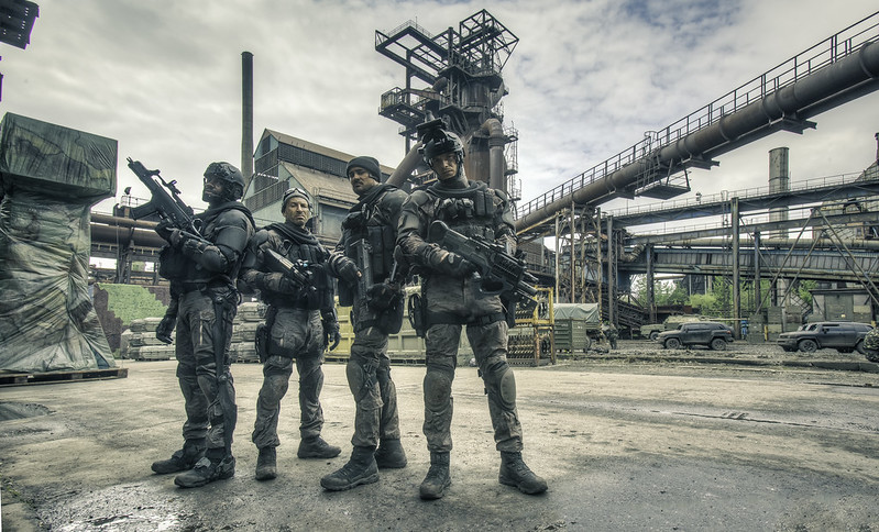 Pics from the set of Ghost Recon Alpha | Forums