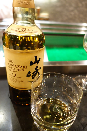 Ending the meal at IKYU with The Yamazaki 12 years