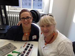 Lisa and Rina Beginner Earrings and Necklace Design Class