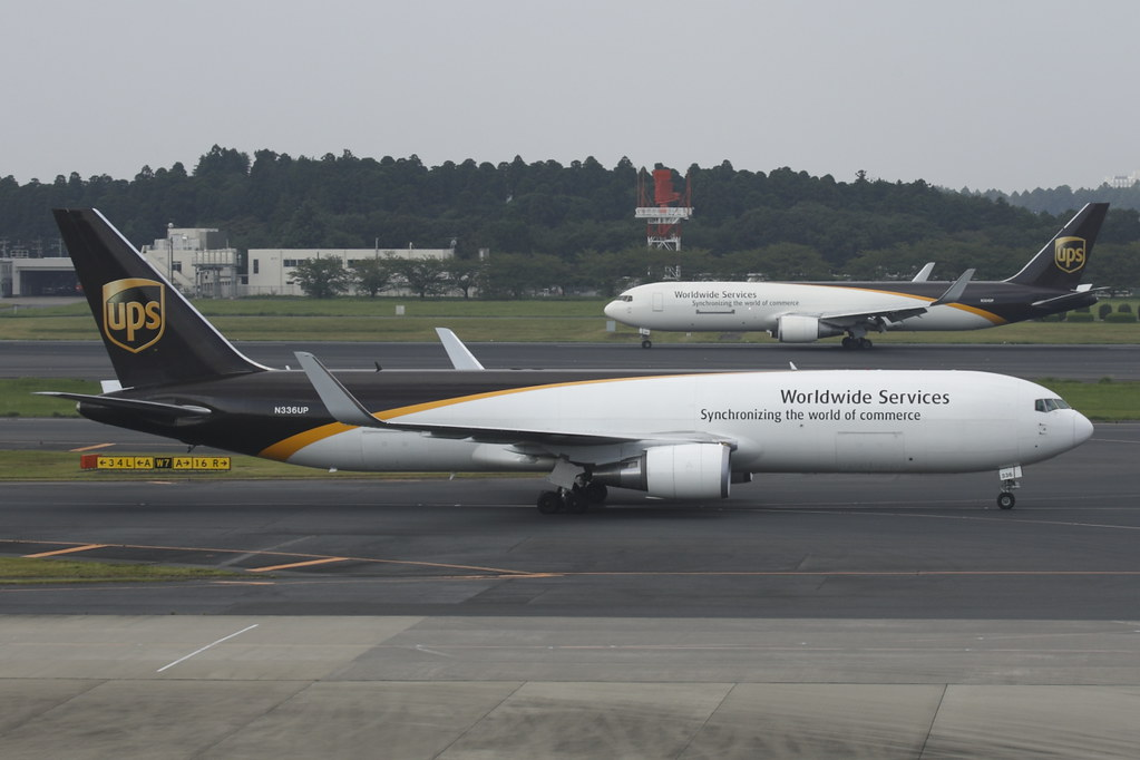 N336UP - B763 - UPS Airlines