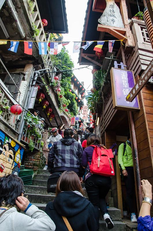 Jiufen (九份) at New Taipei City, Taiwan