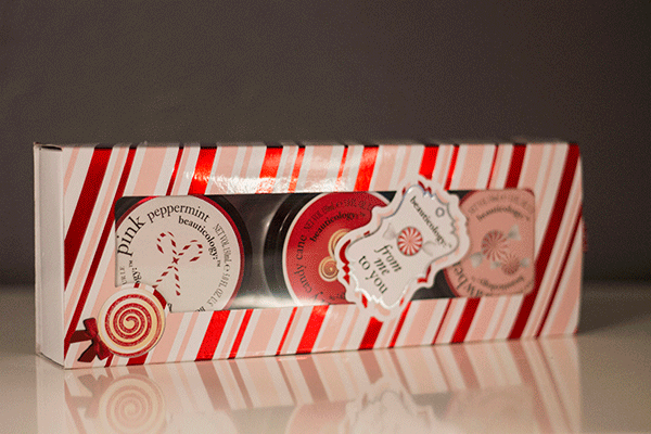 Baylis and Harding Beauticology Candy Cane 3 Body Butter Set