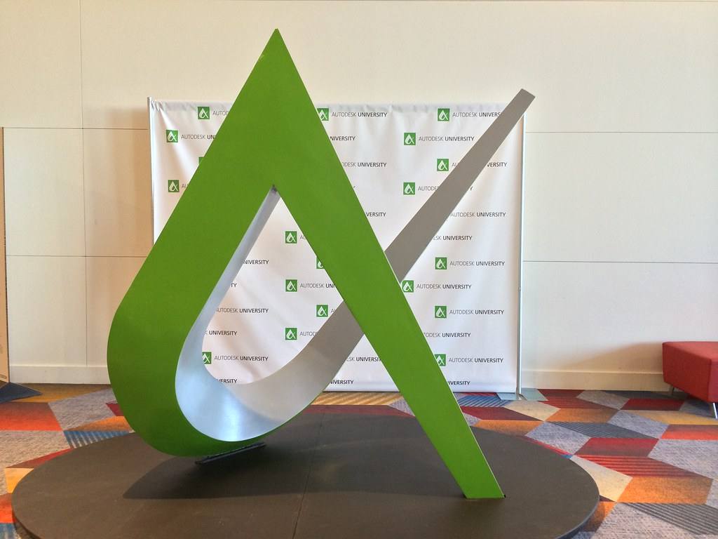 Big AU Logo at Autodesk University 2013