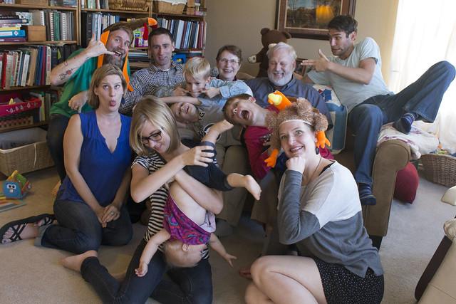 Gerdes & Gollub family Thanksgiving 2013