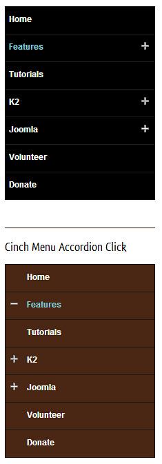 cinch-menu