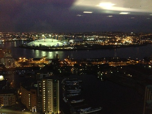 View from the Barclays design team on the 22nd floor
