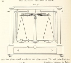 """British Library digitised image from page 36 of """"The Chemical Analysis of Iron. A complete account of all the best known methods for the analysis of iron, steel, etc"""""""