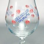 ベルギービール大好き!!【デリリウム・トレメンスの専用グラス】(管理人所有 )