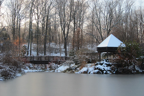 Snow Day @ Brookside Gardens:  Anderson Pavilion