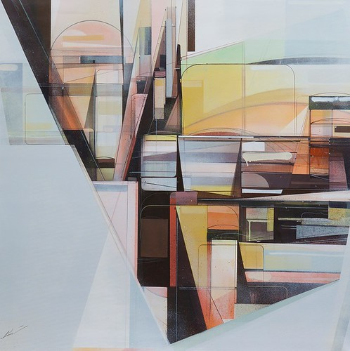 Sound-Manifest-Horizon-No.-1 by Augustine Kofie as part of Graffuturism at White Walls in SF