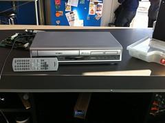 Toshiba VCR/DVD combo