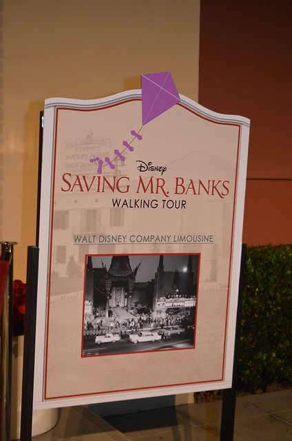 Saving Mr. Banks event at Walt Disney Studios