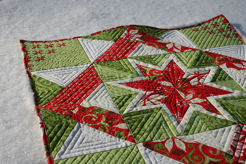 Christmas Star Quilt 2