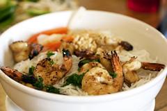 shrimp bun @ pho sydney