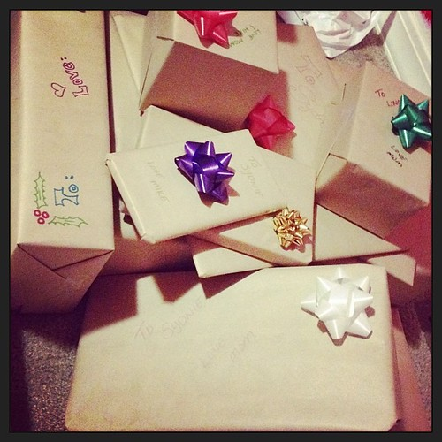 Brown Paper Christmas Wrappin