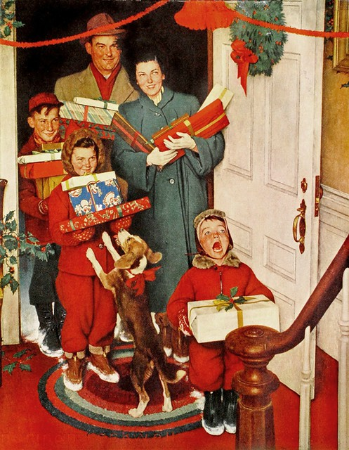 Merry christmas Norman Rockwell