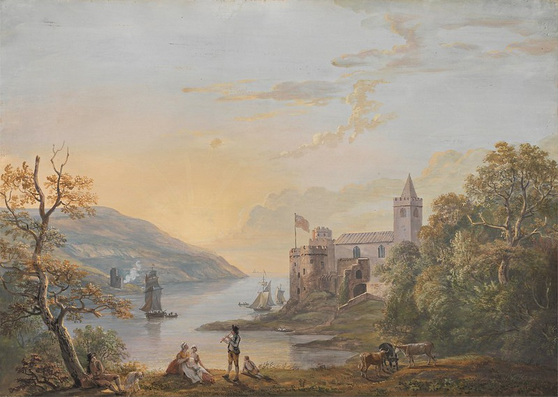 Paul Sandby - Dartmouth Castle (c.1794)