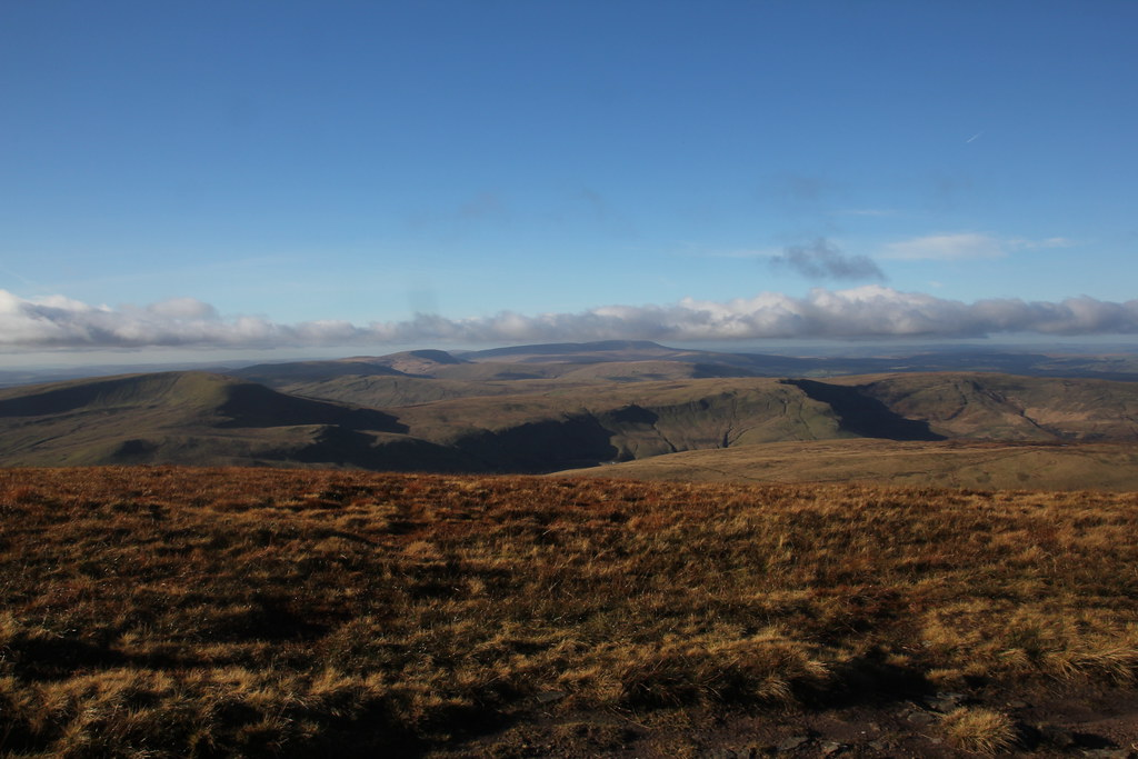 Brecon Beacons, Pen y Fan, Corn Du, Cribyn, Fan y Big
