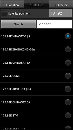 Satellite director - Phần mềm hỗ trợ lắp chảo parabol trên Android 11922555345_36c57ce12e