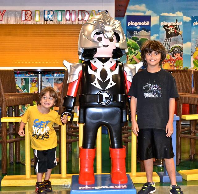 Playmobil fun park, west palm beach -  having fun
