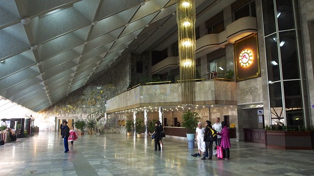 Lobby of the Ynaggakdo Hotel Pyongyang, DPRK