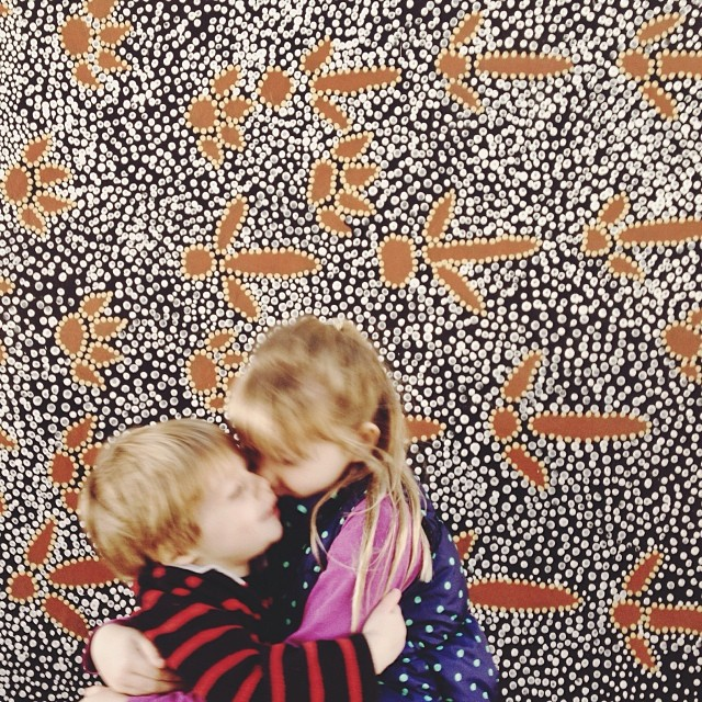 My loves. #365grateful #latergram #hug #blurry #sister #brother #love #blessed #pattern #kczoo