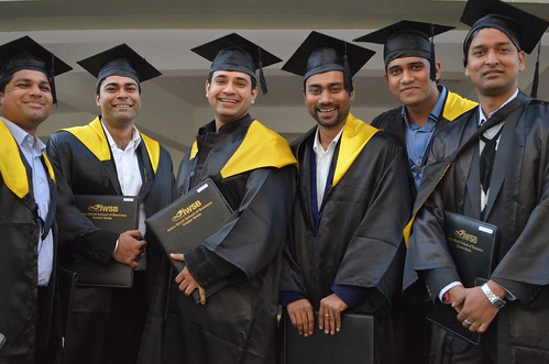 Convocation of class of 2013, IWSB