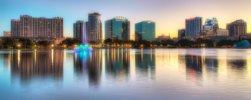 sunset orlando florida processing nik lakeeola hdr photomatix