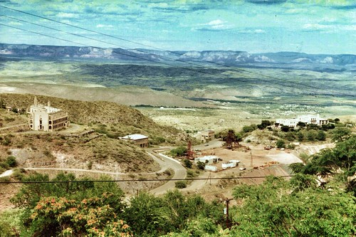 county arizona sky black verde film america vintage landscape town ghost az historic mining hills valley copper jerome historical largest yavapai nrhp onasill