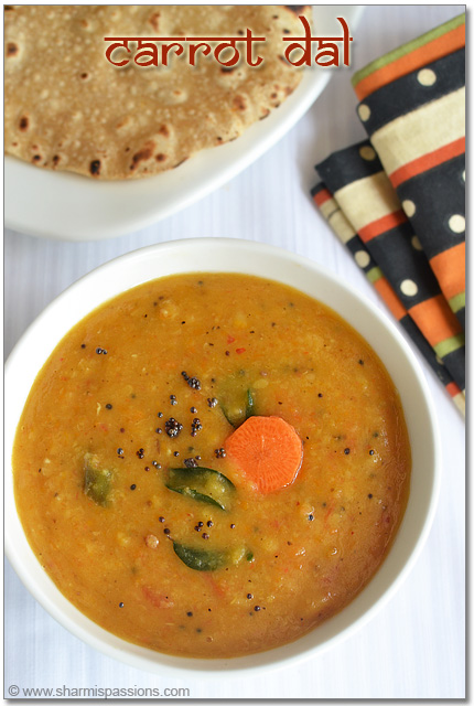 Gajar Ka Dal Recipe