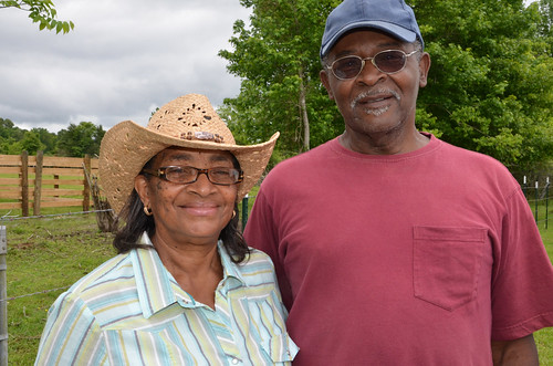 Percy and Emma Brown worked with NRCS to implement a rotational grazing system on their Mississippi ranch.